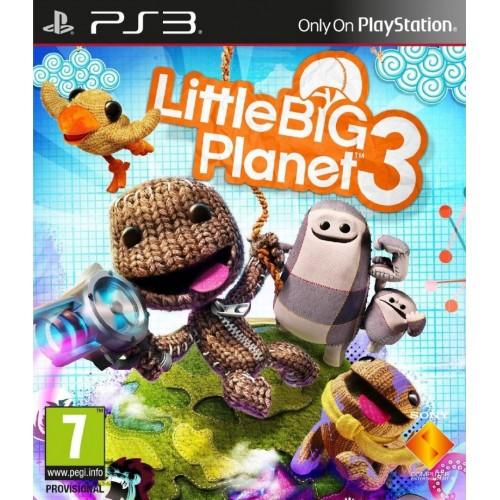 LittleBigPlanet 3 [PlayStation 3] купить в новосибирске