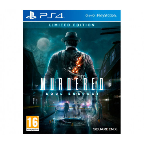 Murdered Soul Suspect Limited Edition PlayStation 4 Б/У купить в новосибирске