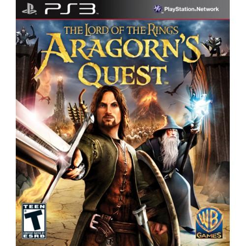 Lord of the Rings: Aragorn's Quest PlayStation 3 Б/У купить в новосибирске