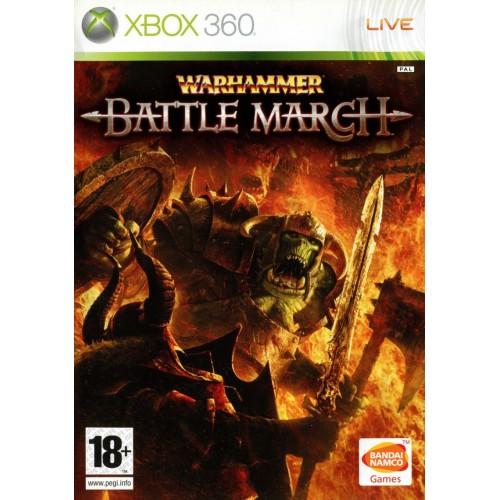 Warhammer Battle March Xbox 360 Б/У купить в новосибирске