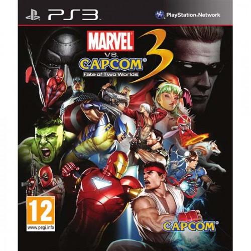 Marvel vs Capcom 3: Fate of Two Worlds PlayStation 3 Б/У купить в новосибирске