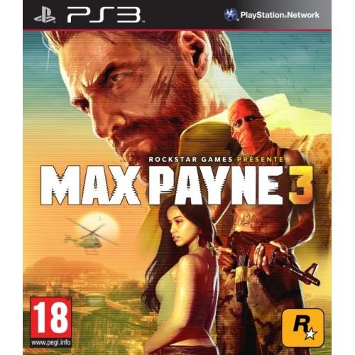 Max Payne 3 PlayStation 3 Б/У купить в новосибирске