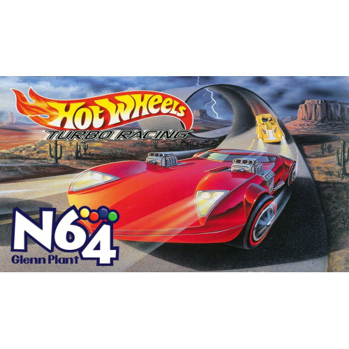 Hot Wheels: Turbo Racing Nintendo 64 купить в новосибирске