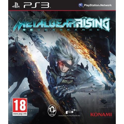 Metal Gear Rising Revengeance PlayStation 3 Б/У купить в новосибирске