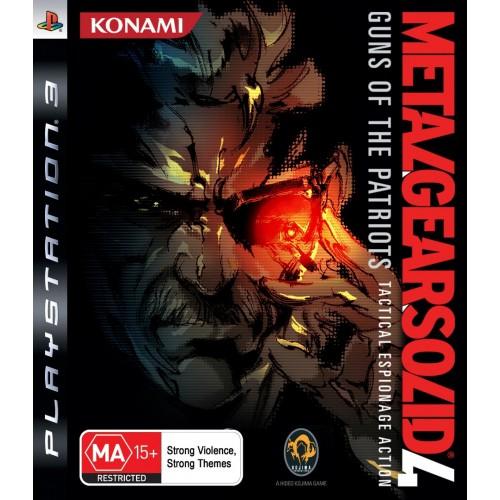 Metal Gear Solid 4: Guns of the Patriots PlayStation 3 Б/У купить в новосибирске