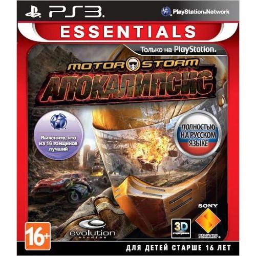 MotorStorm Апокалипсис PlayStation 3 Б/У купить в новосибирске