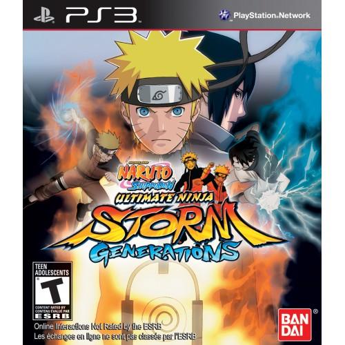 Naruto Shippuden Ultimate Ninja Storm Generations PlayStation 3 Б/У купить в новосибирске