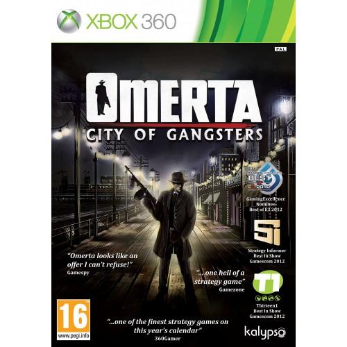 Omerta City Of Gangsters Xbox 360 Б/У купить в новосибирске