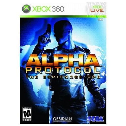 Alpha Protocol Xbox 360 Б/У купить в новосибирске