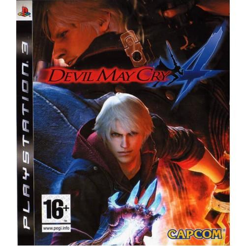 Devil May Cry 4 PlayStation 3 Б/У купить в новосибирске