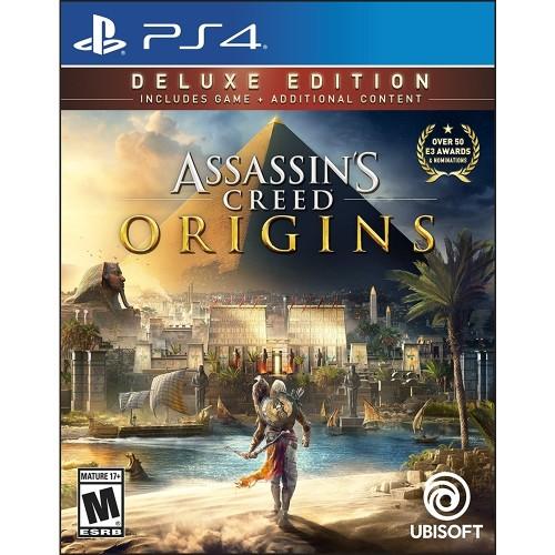 Assassin's Creed Origins Deluxe Edition (новый, в упаковке) купить в новосибирске