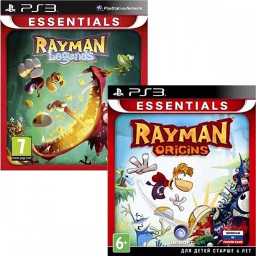 Rayman Legends + Rayman Origins [PlayStation 3] купить в новосибирске