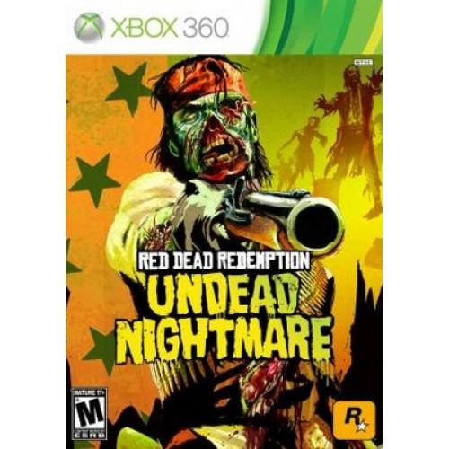 Red Dead Redemption Undead Nightmare Xbox 360 Б/У купить в новосибирске