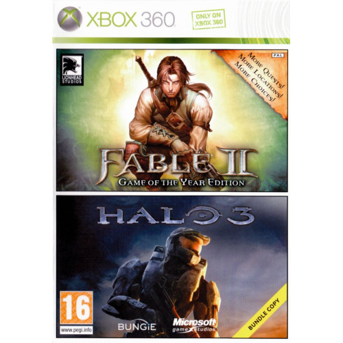 Fable II + Halo 3 Bundle Xbox 360 Б/У купить в новосибирске