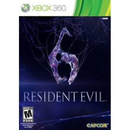 Resident Evil 6 Xbox 360 Б/У купить в новосибирске