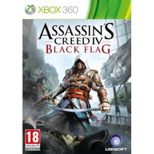 Assassin's Creed IV Чёрный флаг Xbox 360 Б/У купить в новосибирске