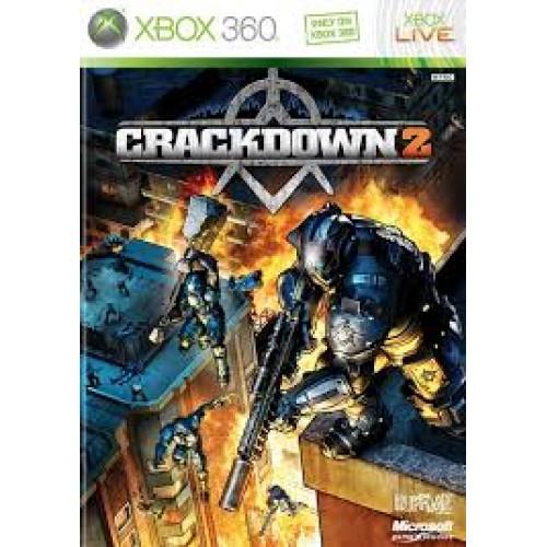 CrackDown 2 Xbox 360 Б/У купить в новосибирске