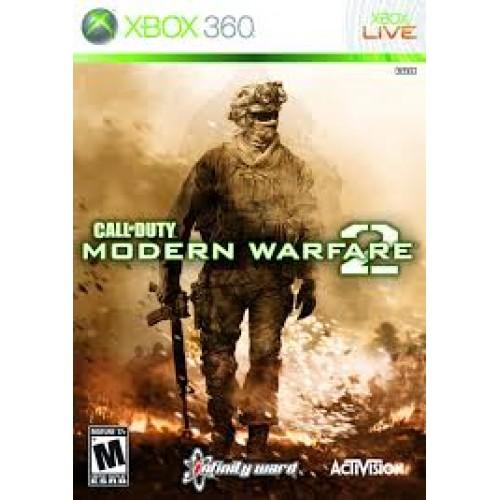 Call of Duty Modern Warfare 2 Xbox 360 Б/У купить в новосибирске
