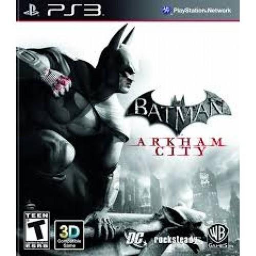 Batman Arkham City Playstation 3 Б/У купить в новосибирске