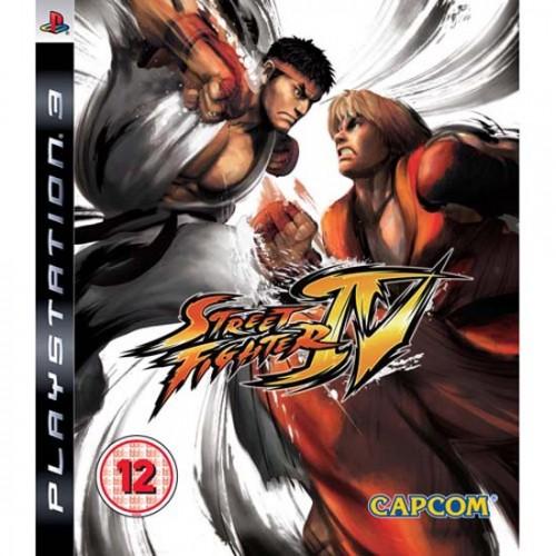 Street Fighter IV PlayStation 3 Б/У купить в новосибирске