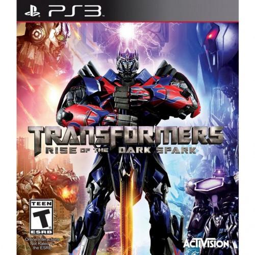 Трансформеры Битва За Темную Искру PlayStation 3 Б/У купить в новосибирске