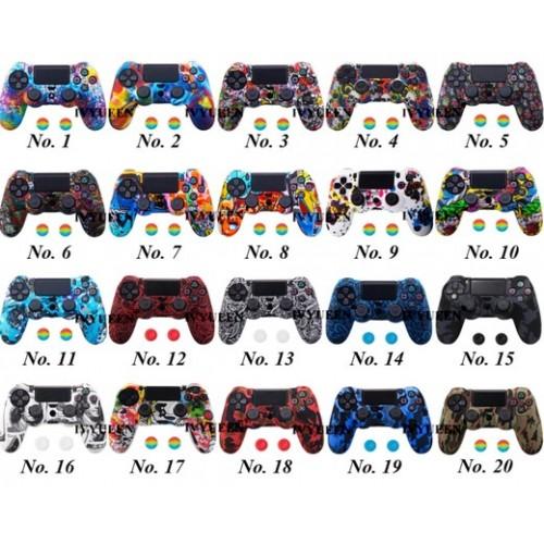 Силиконовые софт-тач чехлы для геймпадов от PlayStation 4 купить в новосибирске