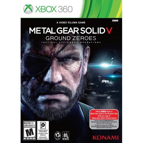 Metal Gear Solid V Ground Zeroes Xbox 360 Б/У купить в новосибирске