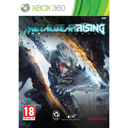 Metal Gear Rising Xbox 360 Б/У купить в новосибирске