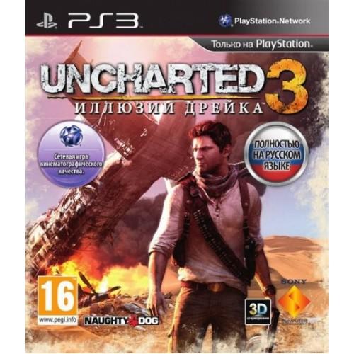Uncharted 3: Drake's Deception PlayStation 3 Б/У купить в новосибирске