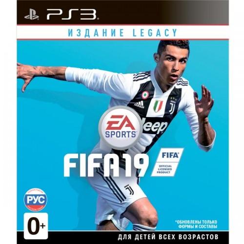 FIFA 19 PlayStation 3 Новый купить в новосибирске