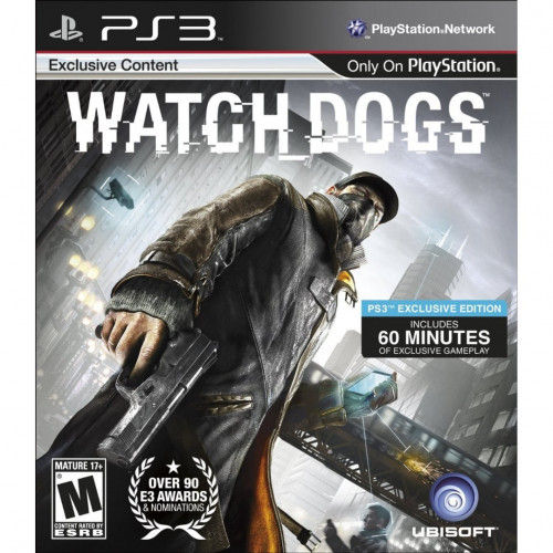 Watch Dogs [PlayStation 3] купить в новосибирске
