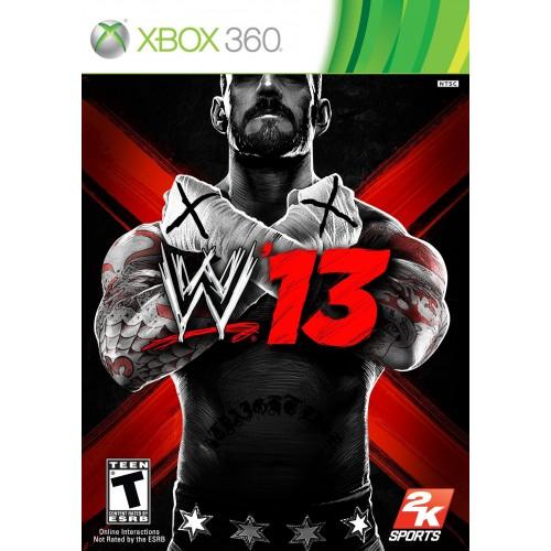 WWE 13 Xbox 360 Б/У купить в новосибирске