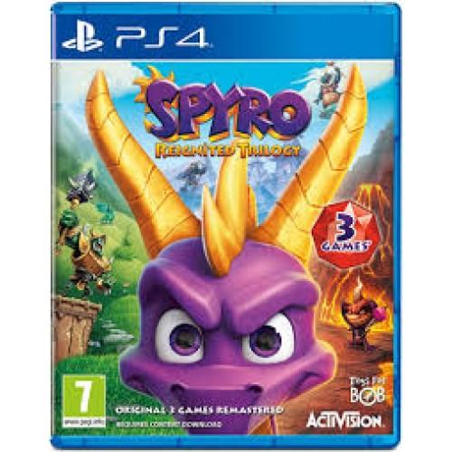 Spyro Reignited Trilogy PlayStation 4 Б/У купить в новосибирске