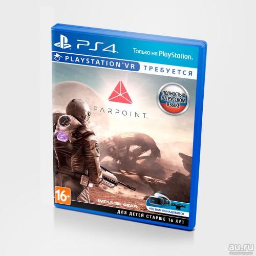 Farpoint PS4 Новый купить в новосибирске