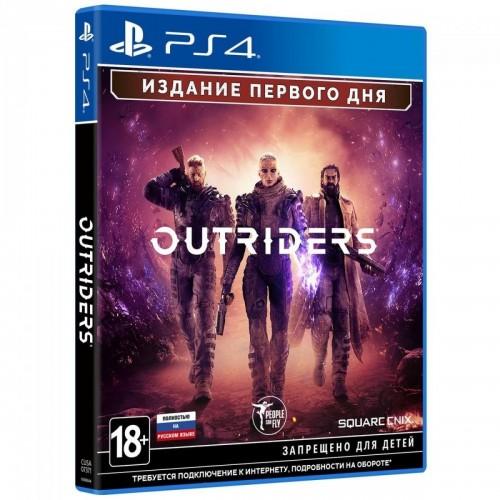 Outriders Day One Edition PS4 Новый купить в новосибирске
