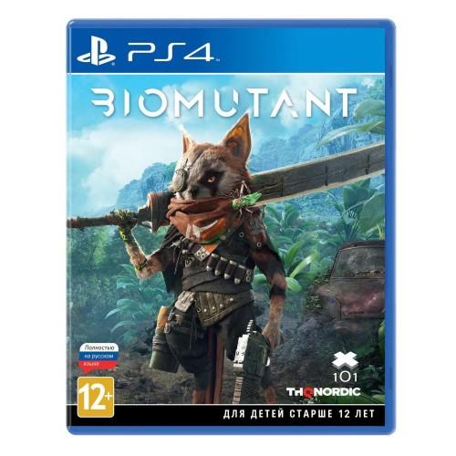 Biomutant PS4 Новый купить в новосибирске