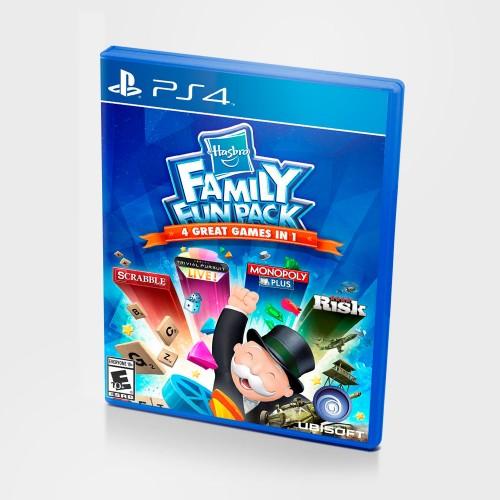 Hasbro Family Fun Pack 4 Great Games PS4 Новый купить в новосибирске