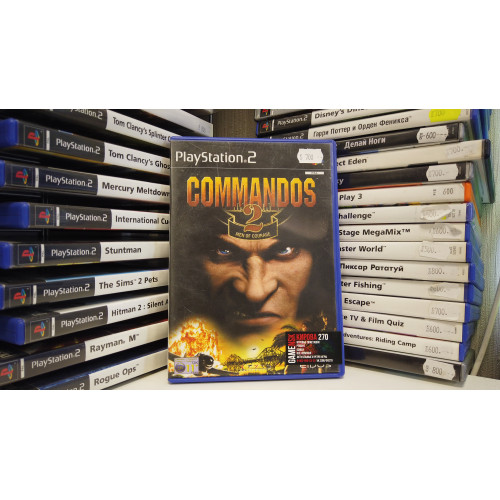 COMMANDOS 2 MEN OF COURAGE  купить в новосибирске