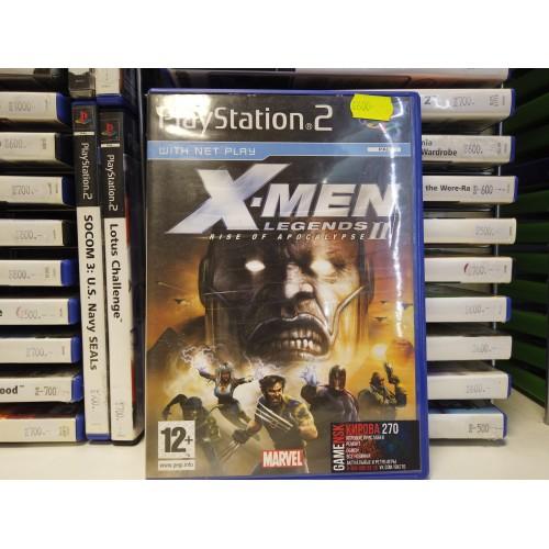 X-MEN LEGENDS 2 RISE OF APOCALYPSE купить в новосибирске