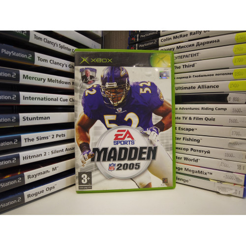 Madden NFL 2005 купить в новосибирске