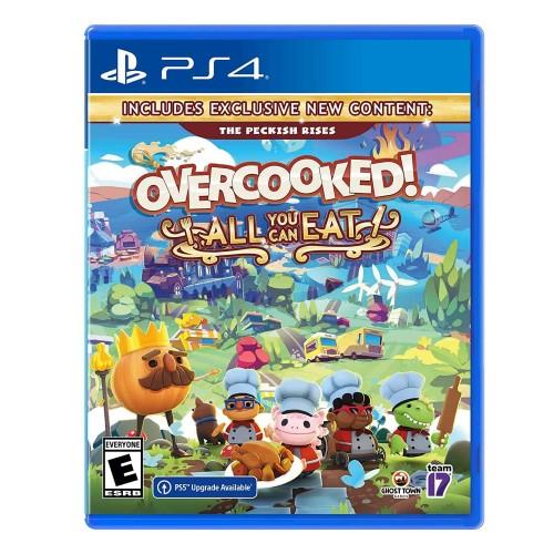 Overcooked All you can eat PS4 Новый купить в новосибирске
