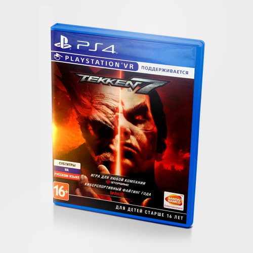 Tekken 7 PS4 Новый купить в новосибирске